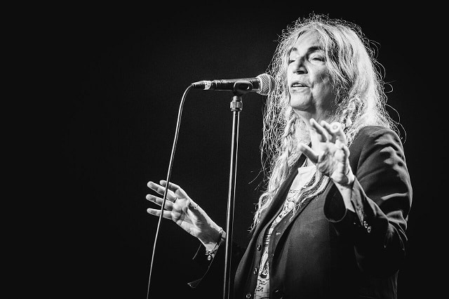 Patti Smith (photo: Ben Willmott)