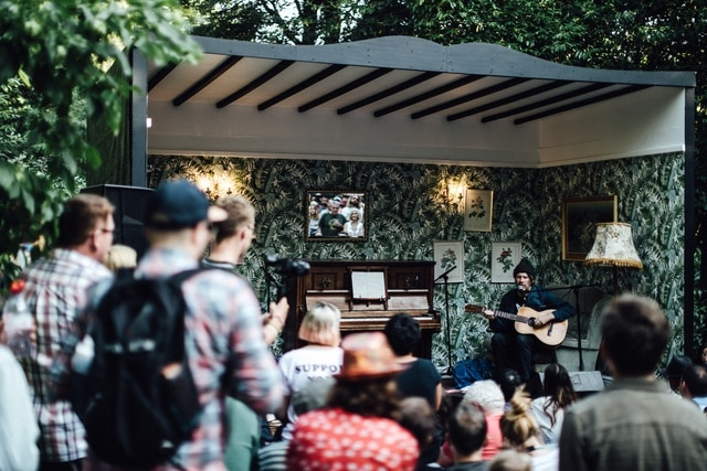 Gruff Rhys, live at End Of The Road 2018