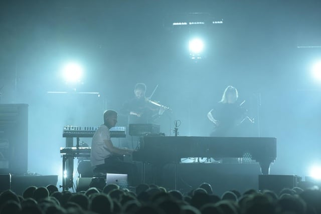Ólafur Arnalds, live at the Palladium, London