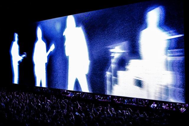 U2, live at the O2 Arena, London