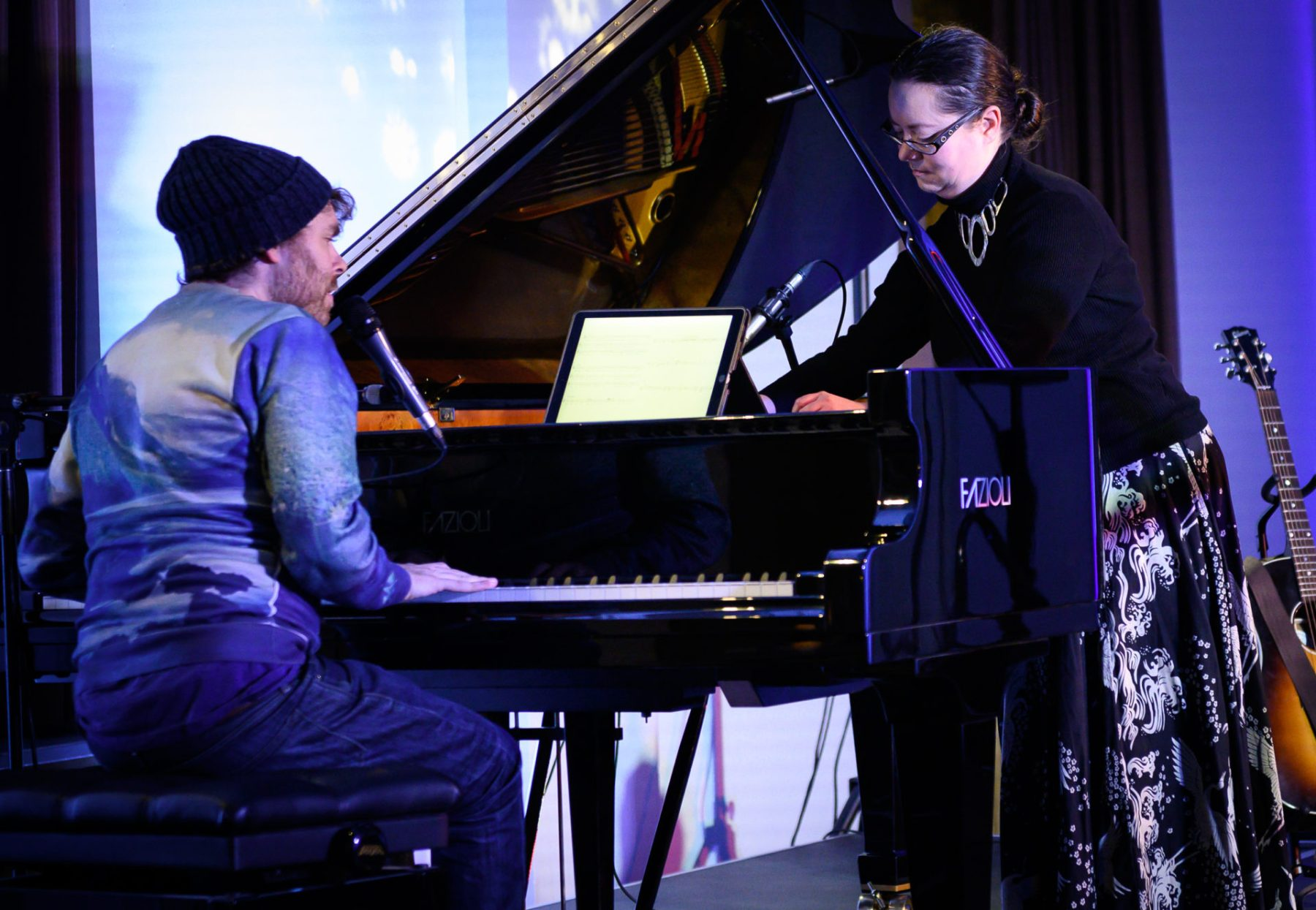 Rachel Kiyo Iwaasa & Gabriel Kahane, Music for the Winter Solstice 2019