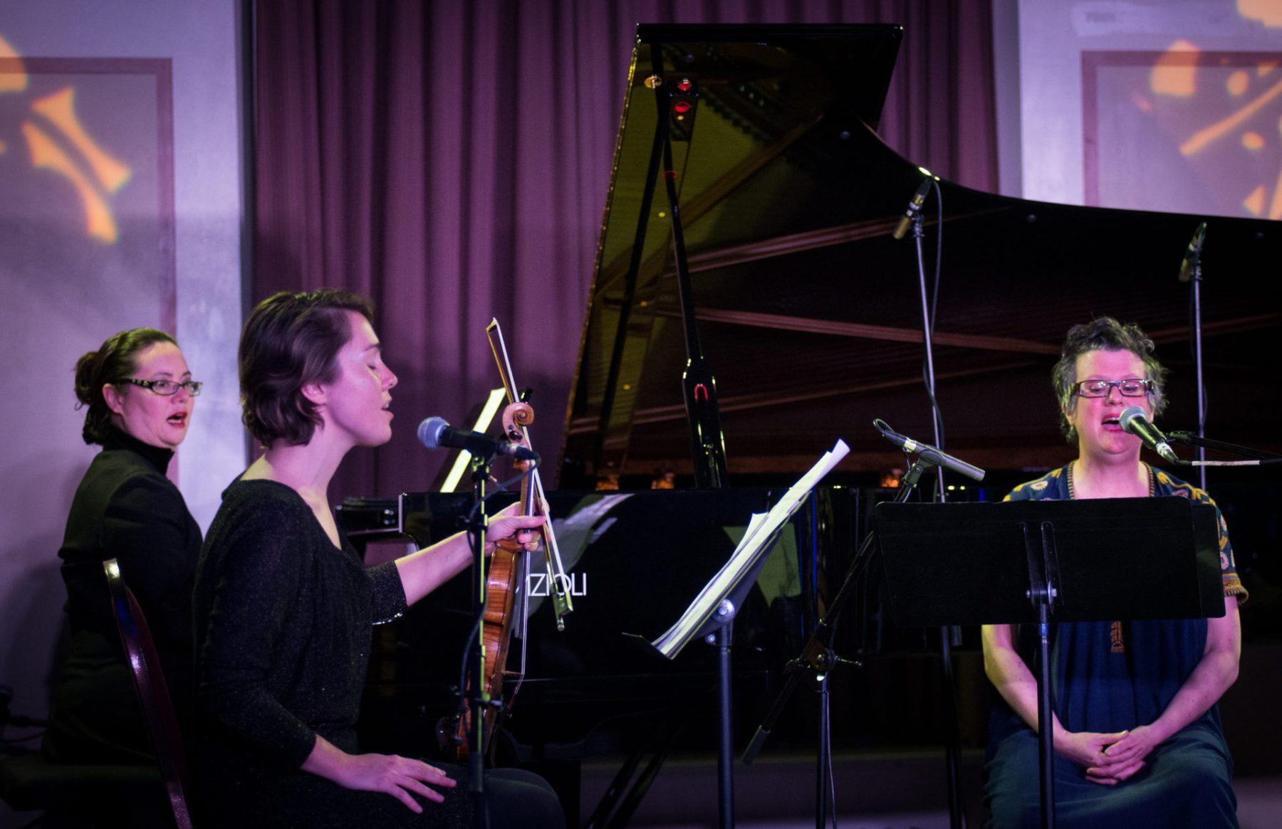Veda Hille, Caroline Shaw, Rachel Kiyo Iwaasa, Music for the Winter Solstice 2016