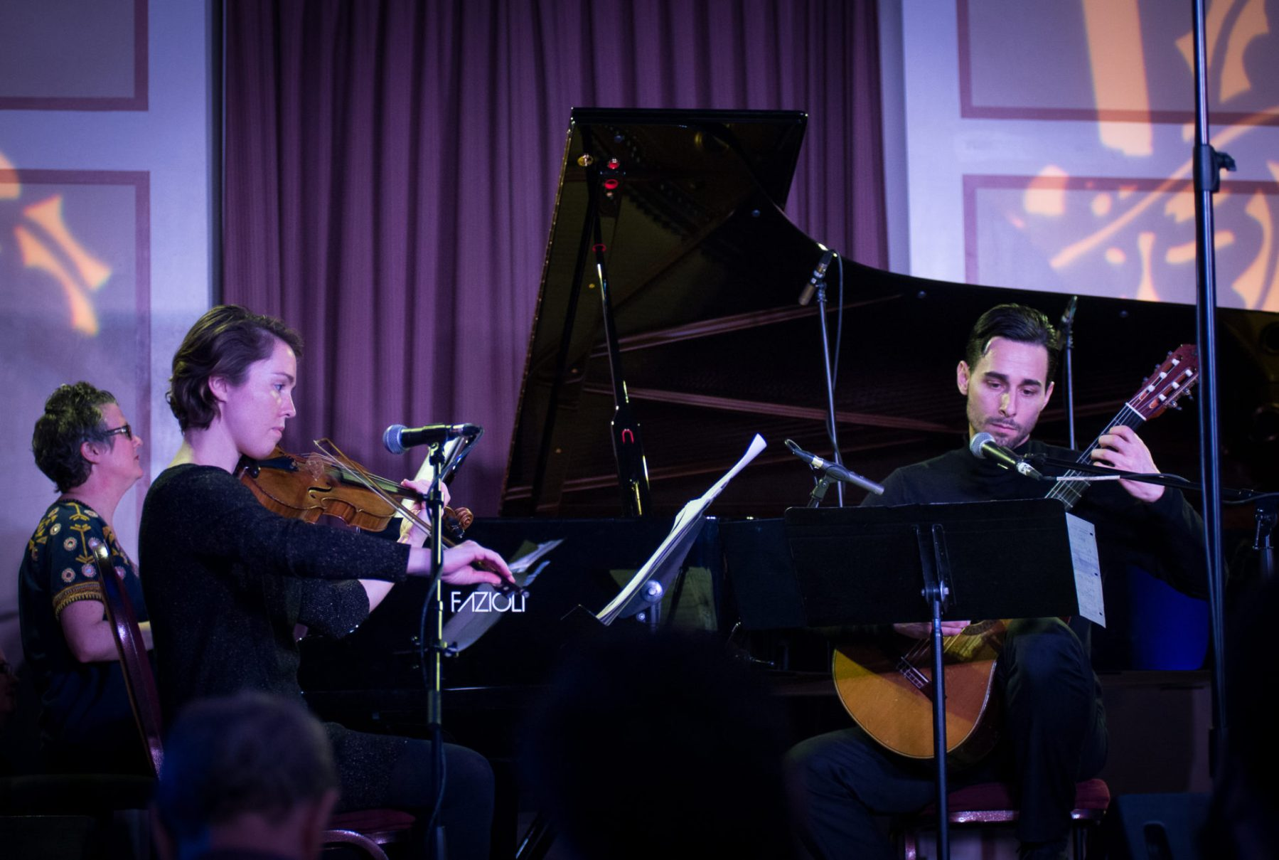 Veda Hille, Caroline Shaw, Adrian Verdejo, Music for the Winter Solstice 2016