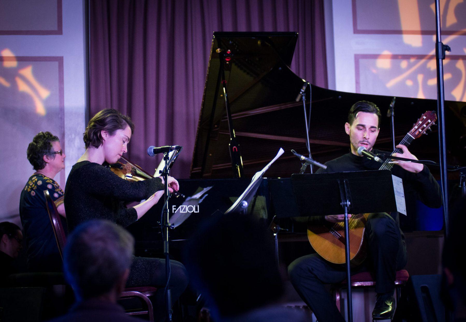 Veda Hille, Caroline Shaw & Adrian Verdejo, Music for the Winter Solstice 2016