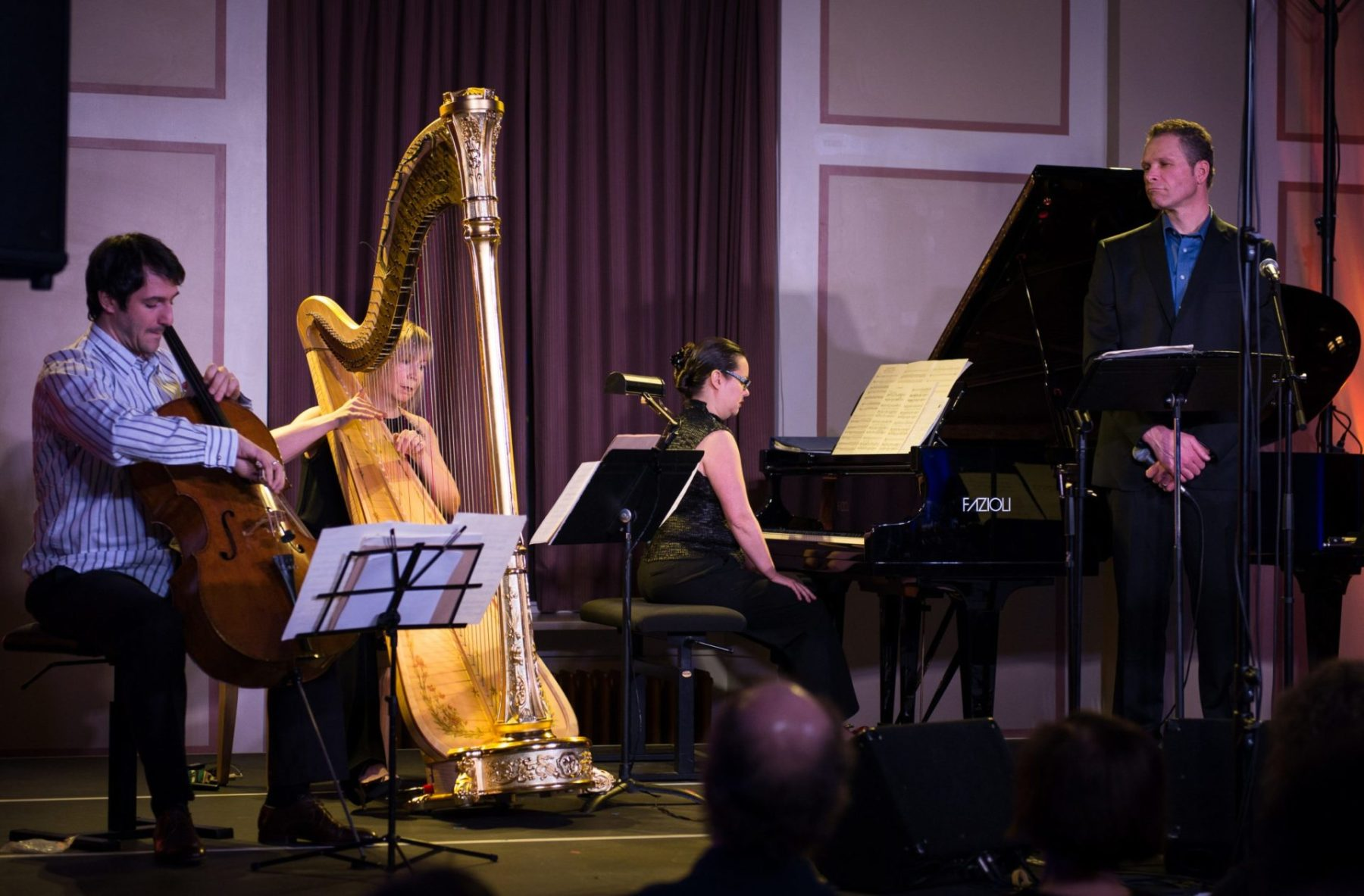 Ariel Barnes, Heidi Krutzen, Rachel Kiyo Iwaasa & Steve Maddock, Music for the Winter Solstice 2014