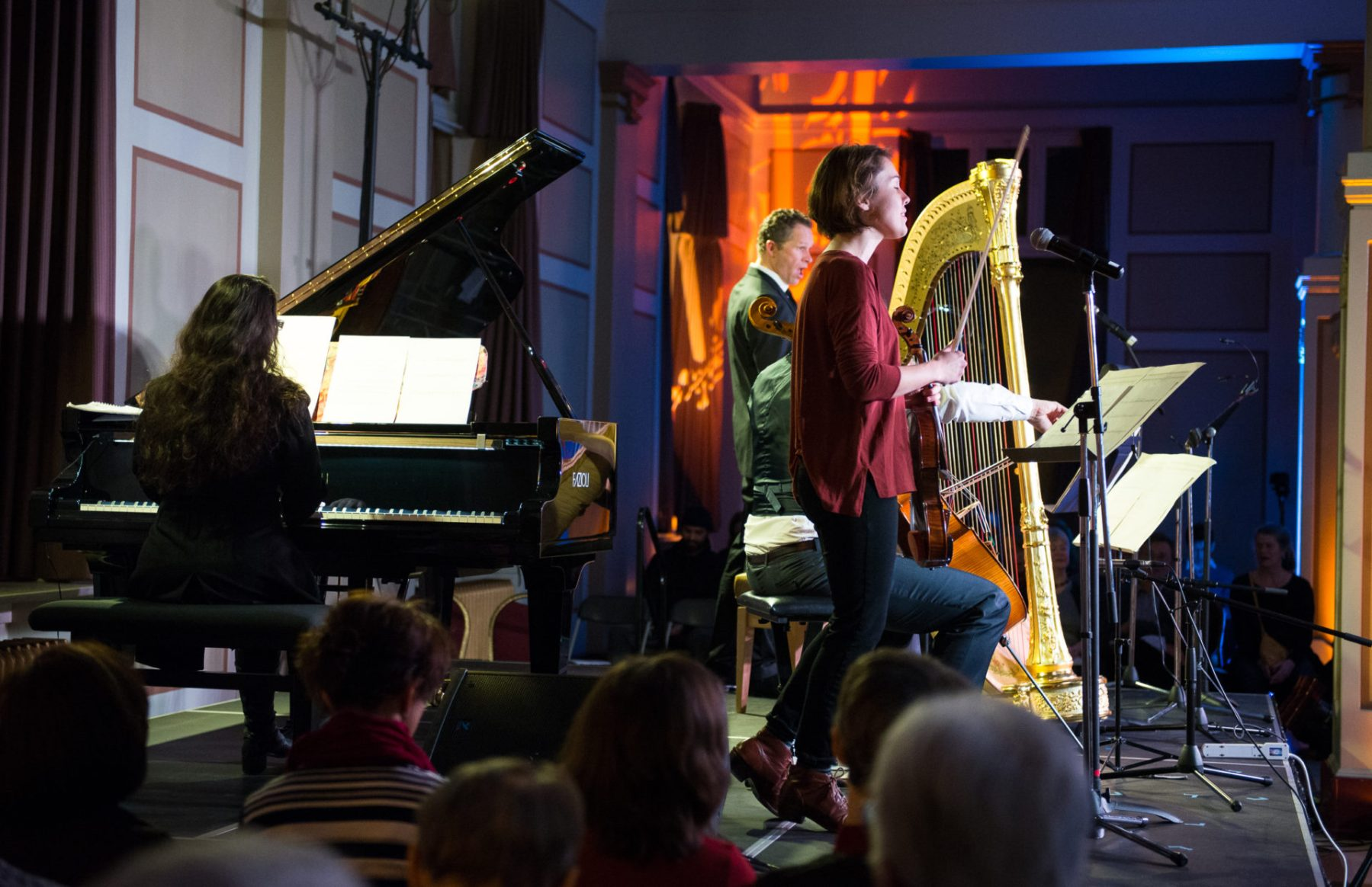 Rachel Kiyo Iwaasa, Steve Maddock, Ariel Barnes, Heidi Krutzen & Caroline Shaw, Music for the Winter Solstice 2015
