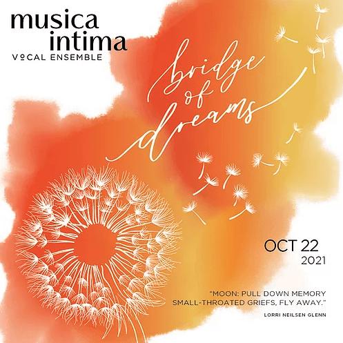 musica intima bridge of dreams graphic