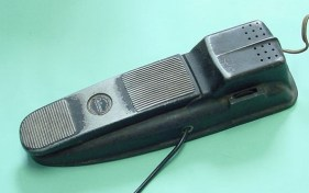 Model 800 TremTrol tremolo pedal, requires 110V 60Hz electrical supply. Model 800-A TremTrol tremolo pedal,updated version, requires 110V 60Hz electrical supply
