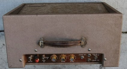 Model R15 Amp. (All six photos of this amp shown here are copyright Real Guitars, San Francisco)