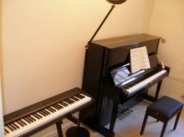 2 piano de haut Musicréa