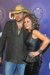 Jason Aldean with wife Jessica