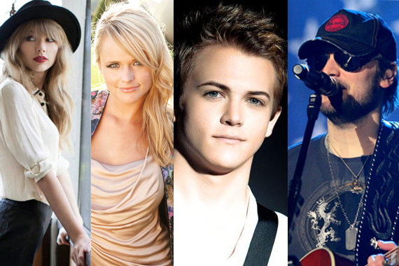 Eric Church is the leading nominee with seven nods, followed by Taylor Swift, Miranda Lambert and Hunter Hayes with