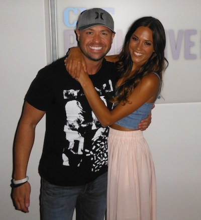 Pictured (L-R): Cody Alan, Jana Kramer