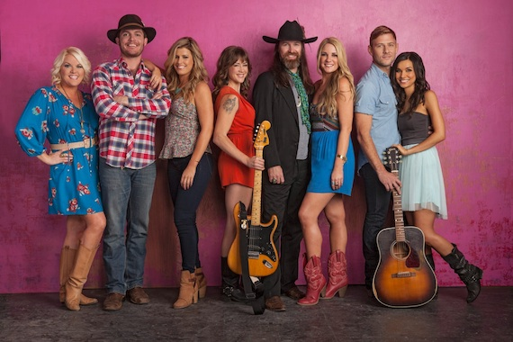 The cast of Crazy Hearts: Nashville