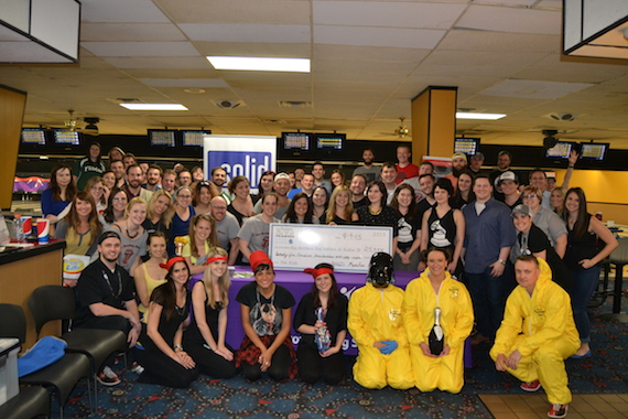 SOLID celebrates during its Music Row Madness event.