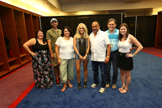Carrie Underwood at CMA Music Festival
