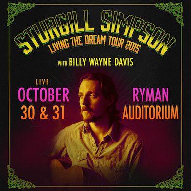 Sturgill simpson tour dates