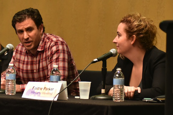 Pcitured (L-R): Zach Gershen and Faithe Parker. Photo: MusicBiz