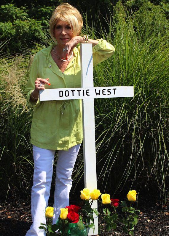 Dottie West Car Accident Photos