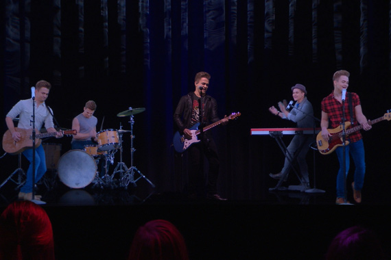 Hunter Hayes Hologram. Photo: ABC