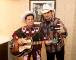 Brad Paisley Helps Madame Tussauds Unveil Little Jimmy Dickens Wax Figure