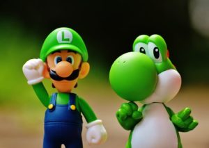 Luigi and Crocodile Toy