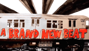 Still from The Subways video for My Heart is Pumping to a Brand New Beat