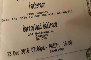 fatherson-barrowland-ballroom-ticket