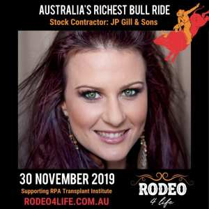 Heart Transplant Recipient Victoria McGee Joins Star-Studded Line Up For Rodeo 4 Life