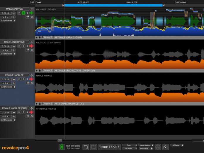 Revoice Pro 4.2 is released, offering a host of new features