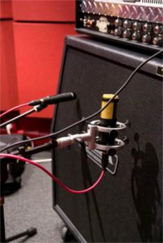 Enregistrer un ampli de guitare électrique