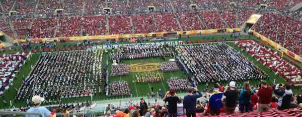 Perform in Bowl Games   Music Travel Consultants