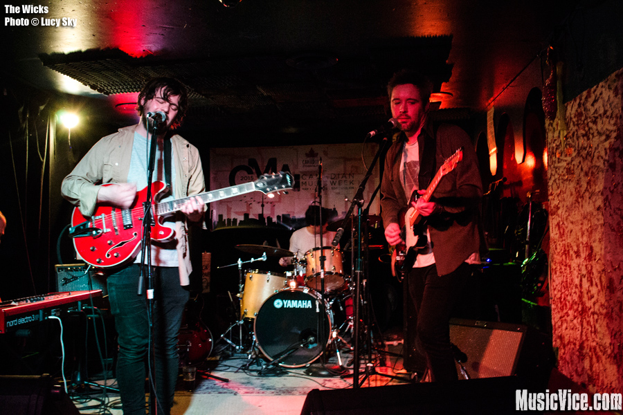 The Wicks at Rancho Relaxo, CMW 2015 - photo Lucy Sky, Music Vice