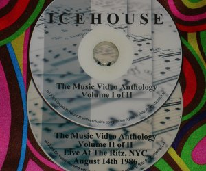 ICEHOUSE Music Video Anthology & Live 1986 (2 DVD 2.5 Hrs.)