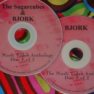 Bjork & Sugar Cubes Music Video Anthology 1986-2011 (2 DVD Set 2 Hours 50 Minutes)