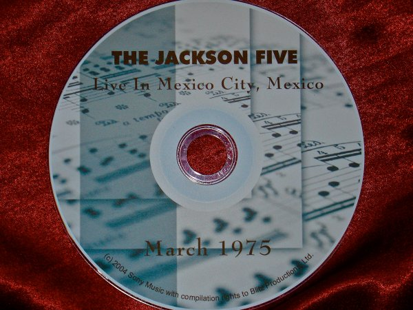 Michael Jackson Video Archives Volume  XVII The Jackson Five 5 Live in Concert, March 16, 1978 Michael, Marlon, Tito, Jackie & Randy Jackson