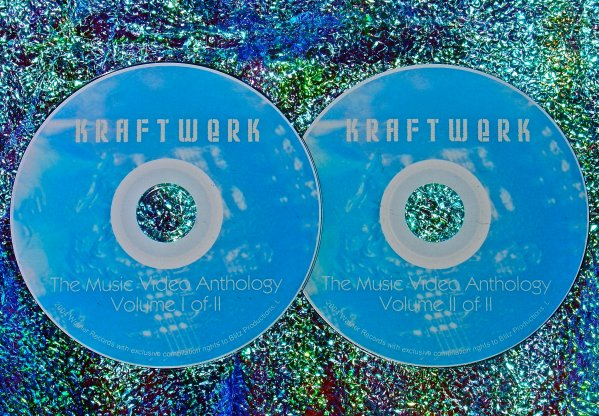 Kraftwerk Music Video Anthology and Live 1971-2000 (2 DVD Set 4 Hours)
