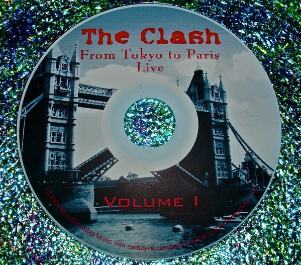 """The Clash Video Archives Collection """"From Tokyo To Paris"""" (Joe Strummer) Volume I"""