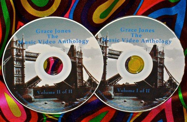 Grace Jones The Music Video Anthology & Live Volumes I & II 1981-2009 UPDATED !!!
