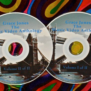 Grace Jones The Music Video Anthology & Live Volumes I & II 1981-2009 UPDATED !!!