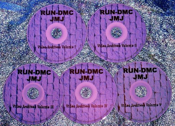RUN-DMC THE VIDEO ARCHIVES 1985-2011 (5 DVD Set 9.5 Hours)