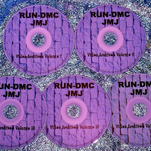 RUN-DMC THE VIDEO ARCHIVES 1985-2011 (5 DVD Set 9.5 Hours)