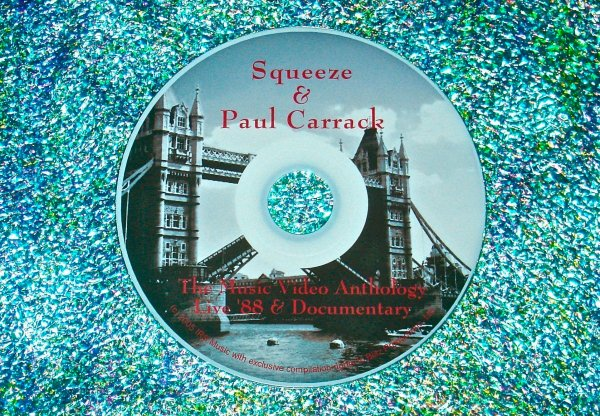 Squeeze, Glenn Tilbrook & Paul Carrack (Solo) The Music Video Anthology & '04 Documentary (2 Hours)