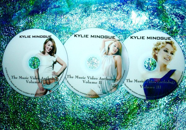 Kylie Minogue The ULTIMATE Music Video Anthology 1987-2015 (3 DVD Set 6 Hours) UPDATED includes Right Here, Right Now, Nervo, The One, Wow, Into The Blue and I Was Gonna Cancel and MORE!!!
