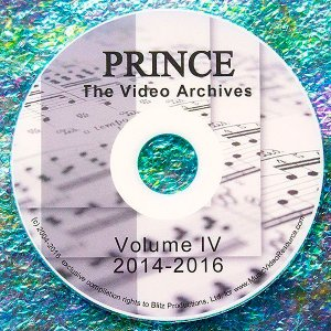 Prince The LIVE Video Archives 2014-2016 Volume IV