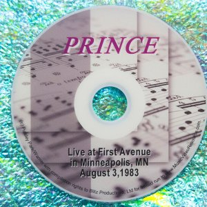 Prince Live at First Avenue in Minneapolis, MN on August 3, 1983