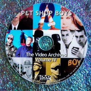 PET SHOP BOYS The VIDEO ARCHIVES  VOLUME IV