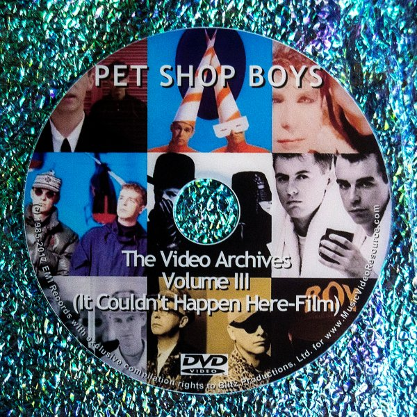 PET SHOP BOYS VIDEO ARCHIVES VOLUME III