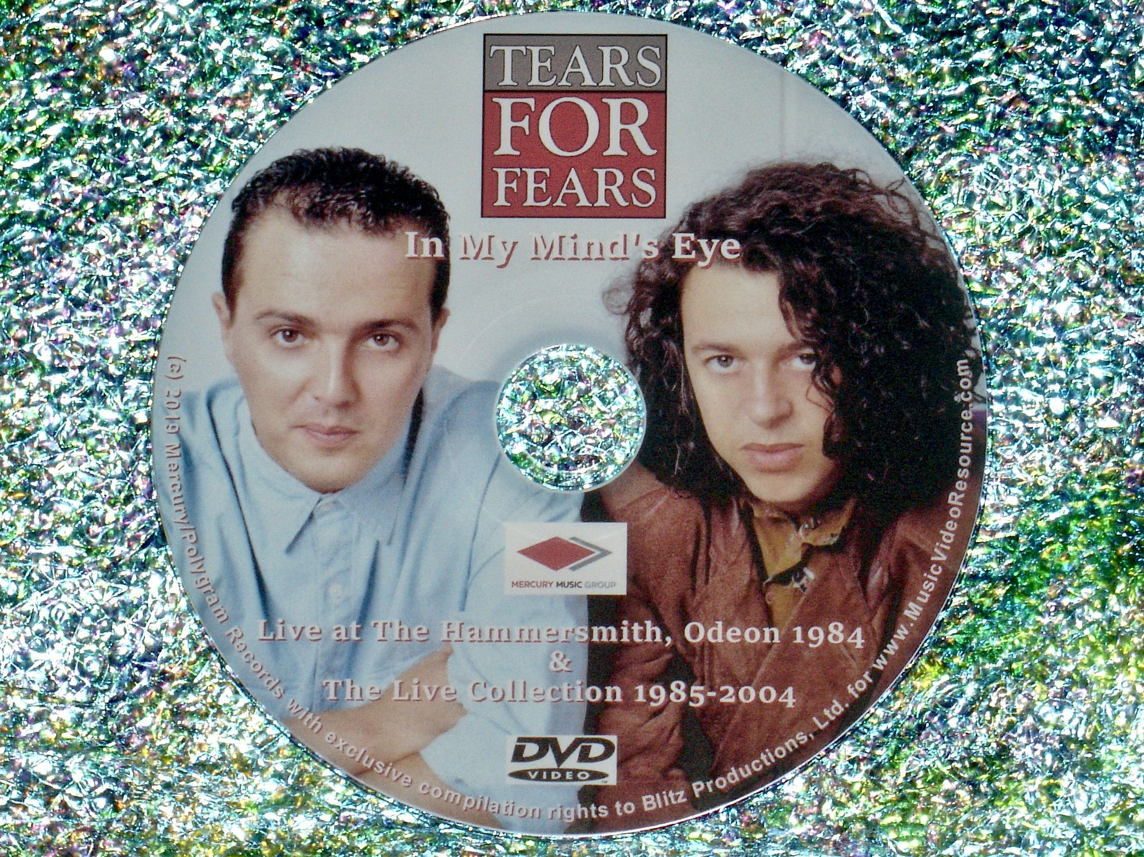 """2f80dc352f563 Tears For Fears """"In My Mind's Eye"""" Live 1984 & Live Collection 1985-2004 –  Music Video Resource"""
