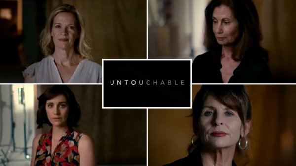 Untouchable- The Rise and Fall of Harvey Weinstein Documentary DVD screen shot